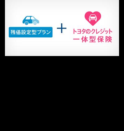 残価設定型プランと併せてトヨタのクレジット一体型保険を利用すれば、車両の購入費用だけでなく、自動車保険の見直しも販売店で行えます。